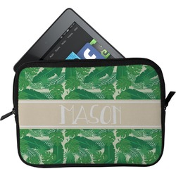 Tropical Leaves 2 Tablet Case / Sleeve (Personalized)