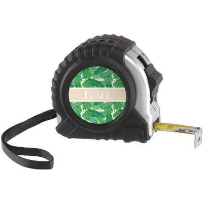 Tropical Leaves #2 Tape Measure (25 ft) (Personalized)