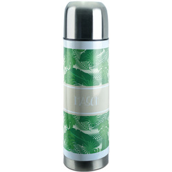Tropical Leaves 2 Stainless Steel Thermos (Personalized)