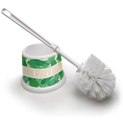 Tropical Leaves 2 Toilet Brush (Personalized)