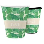 Tropical Leaves #2 Waste Basket (Personalized)