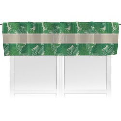 Tropical Leaves 2 Valance (Personalized)