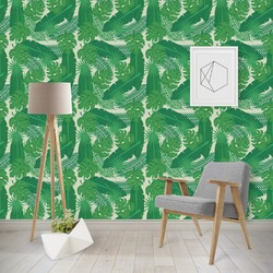 Tropical Leaves #2 Wallpaper & Surface Covering