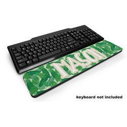 Tropical Leaves 2 Keyboard Wrist Rest (Personalized)