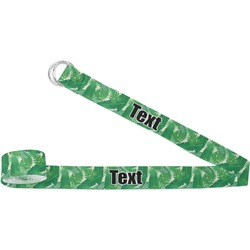 Tropical Leaves 2 Yoga Strap (Personalized)