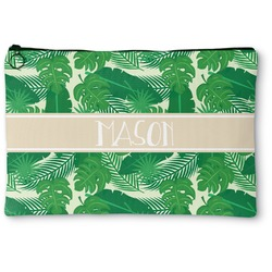 Tropical Leaves 2 Zipper Pouch (Personalized)