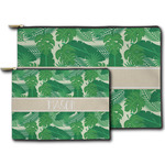 Tropical Leaves #2 Zipper Pouch (Personalized)