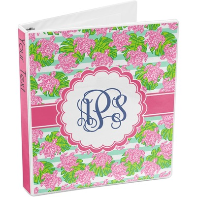 Preppy 3-Ring Binder (Personalized)