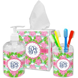 Preppy Bathroom Accessories Set (Personalized)