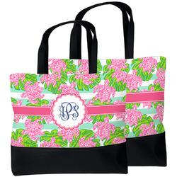 Preppy Beach Tote Bag (Personalized)