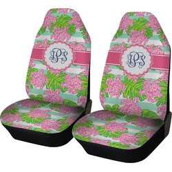 Preppy Car Seat Covers (Set of Two) (Personalized)