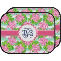 Preppy Car Floor Mats (Back Seat) (Personalized)