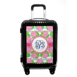 Preppy Carry On Hard Shell Suitcase (Personalized)