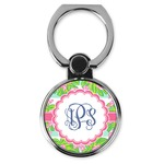 Preppy Cell Phone Ring Stand & Holder (Personalized)