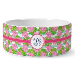 Preppy Ceramic Pet Bowl (Personalized)