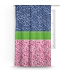 Preppy Curtain (Personalized)