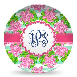 Preppy Microwave Safe Plastic Plate - Composite Polymer (Personalized)