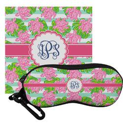 Preppy Eyeglass Case & Cloth (Personalized)