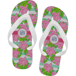 Preppy Flip Flops (Personalized)