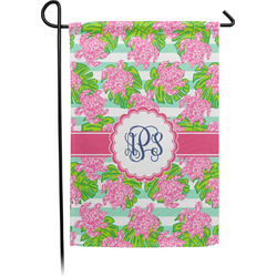 Preppy Garden Flag - Single or Double Sided (Personalized)