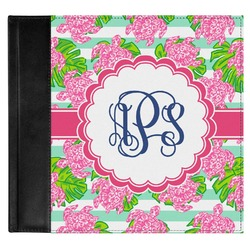 Preppy Genuine Leather Baby Memory Book (Personalized)