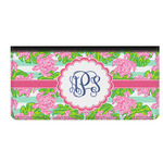 Preppy Genuine Leather Checkbook Cover (Personalized)