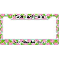 Preppy License Plate Frame (Personalized)