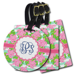 Preppy Plastic Luggage Tags (Personalized)