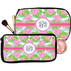 Preppy Makeup / Cosmetic Bag (Personalized)
