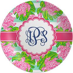 Preppy Melamine Plate (Personalized)