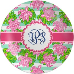 Preppy Melamine Plate (Personalized)