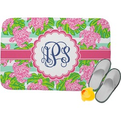 Preppy Memory Foam Bath Mat (Personalized)