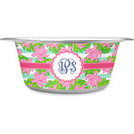 Preppy Stainless Steel Pet Bowl (Personalized)