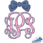 Preppy Monogram Iron On Transfer (Personalized)