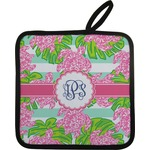 Preppy Pot Holder w/ Monogram
