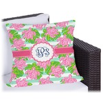Preppy Outdoor Pillow (Personalized)
