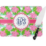 Preppy Rectangular Glass Cutting Board (Personalized)