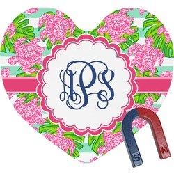 Preppy Heart Fridge Magnet (Personalized)