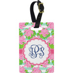 Preppy Rectangular Luggage Tag (Personalized)