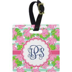 Preppy Square Luggage Tag (Personalized)