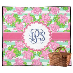 Preppy Outdoor Picnic Blanket (Personalized)