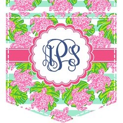 Preppy Iron On Faux Pocket (Personalized)