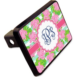"Preppy Rectangular Trailer Hitch Cover - 2"" (Personalized)"