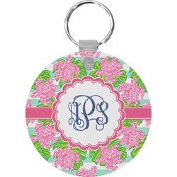 Preppy Round Plastic Keychain (Personalized)