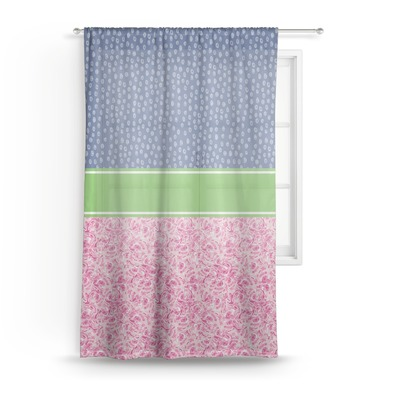 Preppy Sheer Curtains (Personalized)