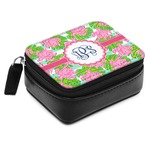 Preppy Small Leatherette Travel Pill Case (Personalized)