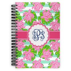 Preppy Spiral Bound Notebook (Personalized)