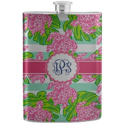 Preppy Stainless Steel Flask (Personalized)