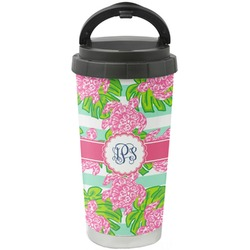 Preppy Stainless Steel Travel Mug (Personalized)