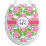 Preppy Toilet Seat Decal (Personalized)